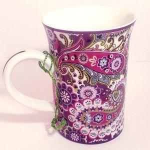 Vera Bradley For Barnes Noble Printed Mug NWOT